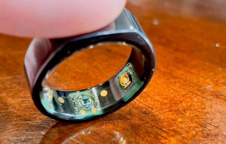 Oura Ring 2 Sensors