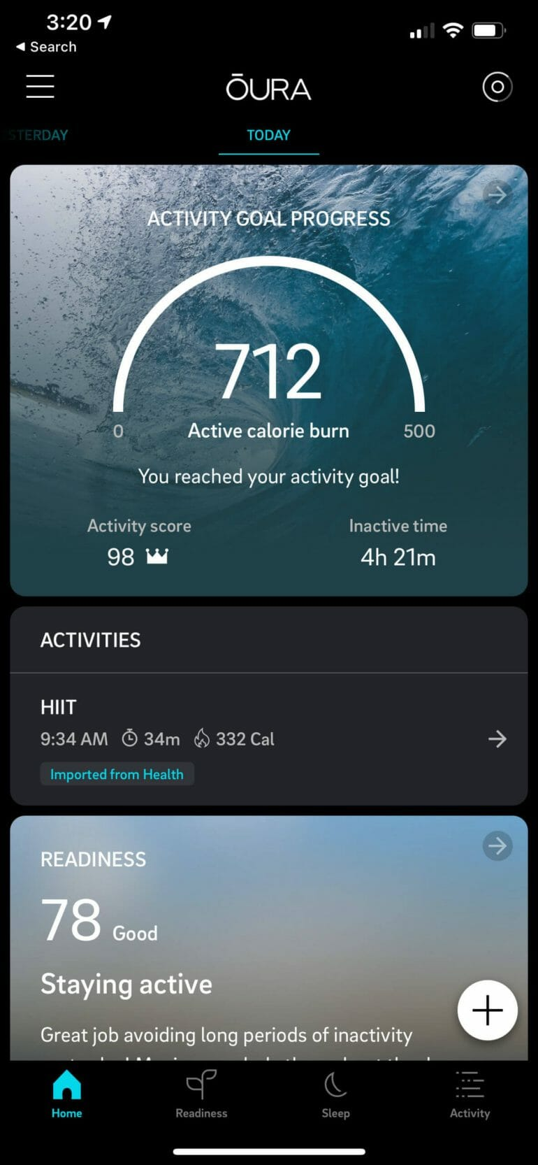 I've never paid too much attention to the Active Calorie Burn metric