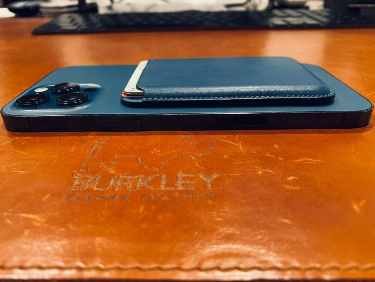 iPhone 12 Pro Max with MagSafe Wallet