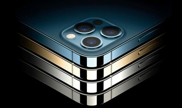iPhone 12 Pro design and finishes