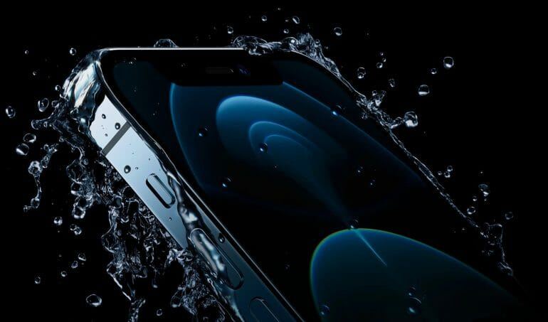 iPhone 12 Pro water resistance