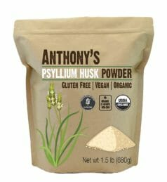 Anthony Organic psyllium husk powder
