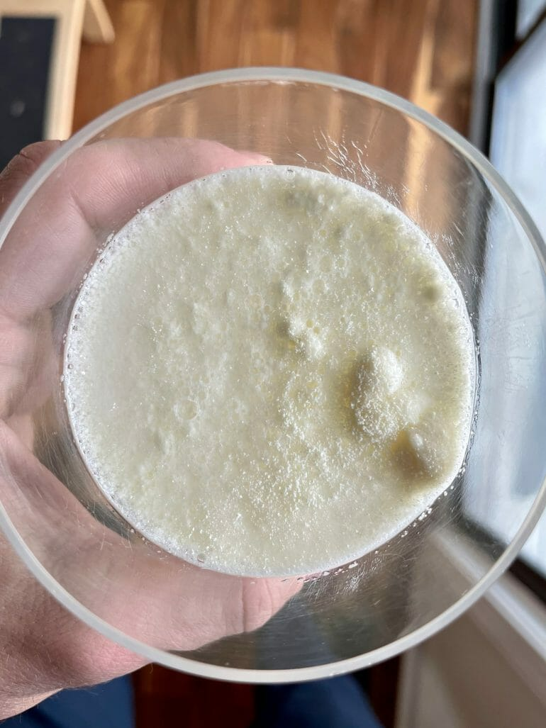 Colostrum-LD Mixed with Water