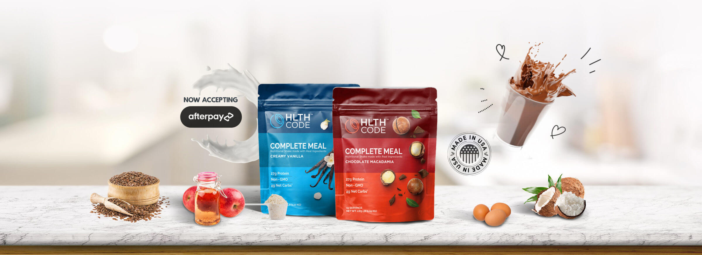 HLTH Code Full Meal Replacement Giveaway
