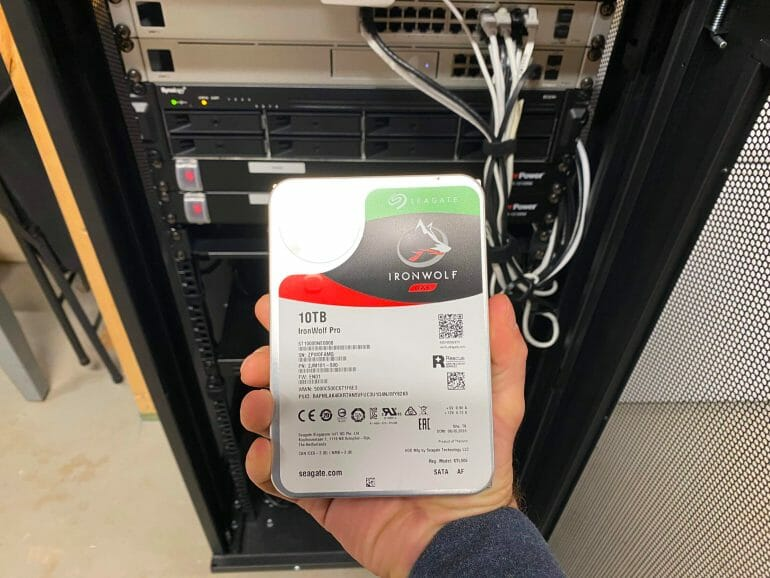 Seagate Ironwolf Drive for RS1219 RAID