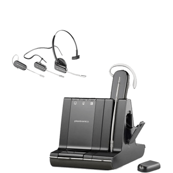 Plantronics W745-M Savi Office Wireless PC Headset