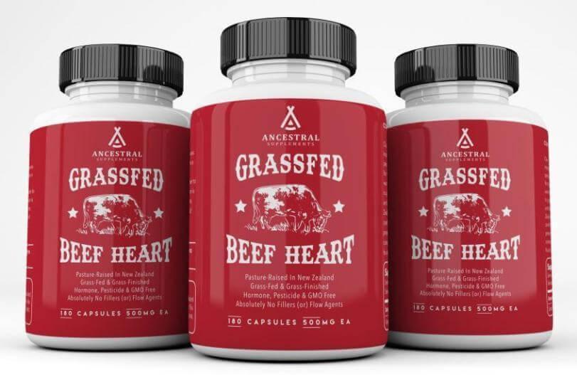 Ancestral Supplements Grass-Fed Beef Heart