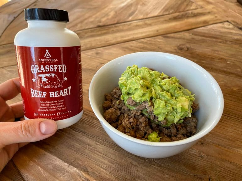 Ancestral Supplements - Grassfed Beef Heart - 1
