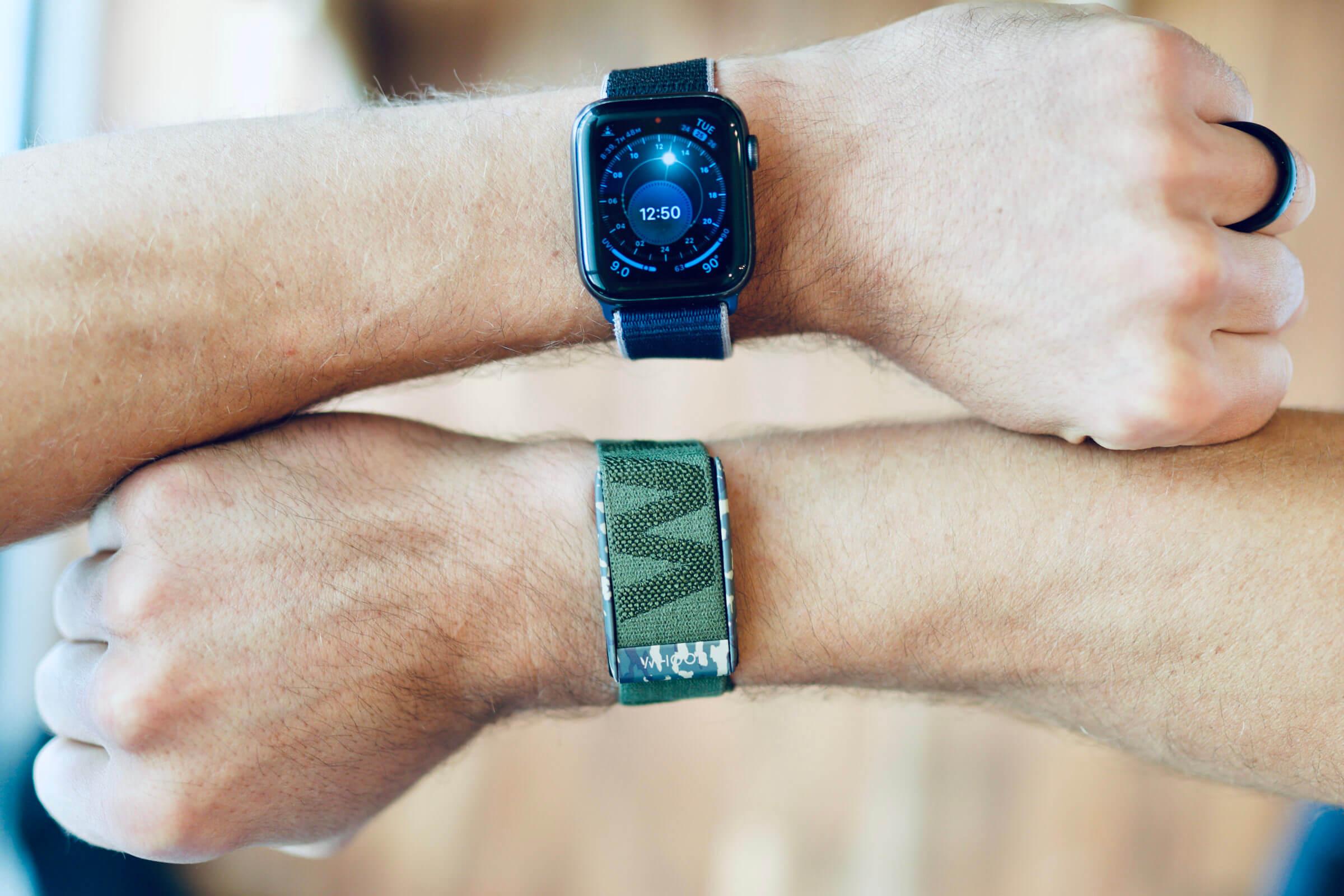Whoop vs Apple Watch Featured