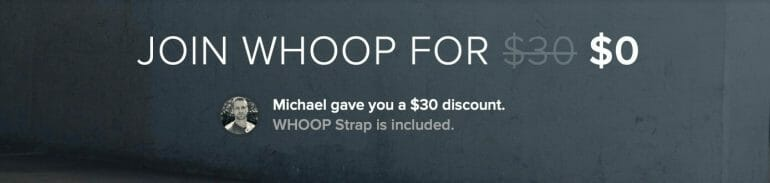 Join WHOOP for $0