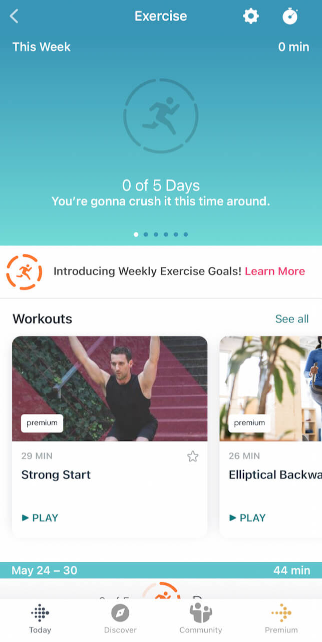 Fitbit thought I didn't work out for five days because it failed to automatically detect my CrossFit session.