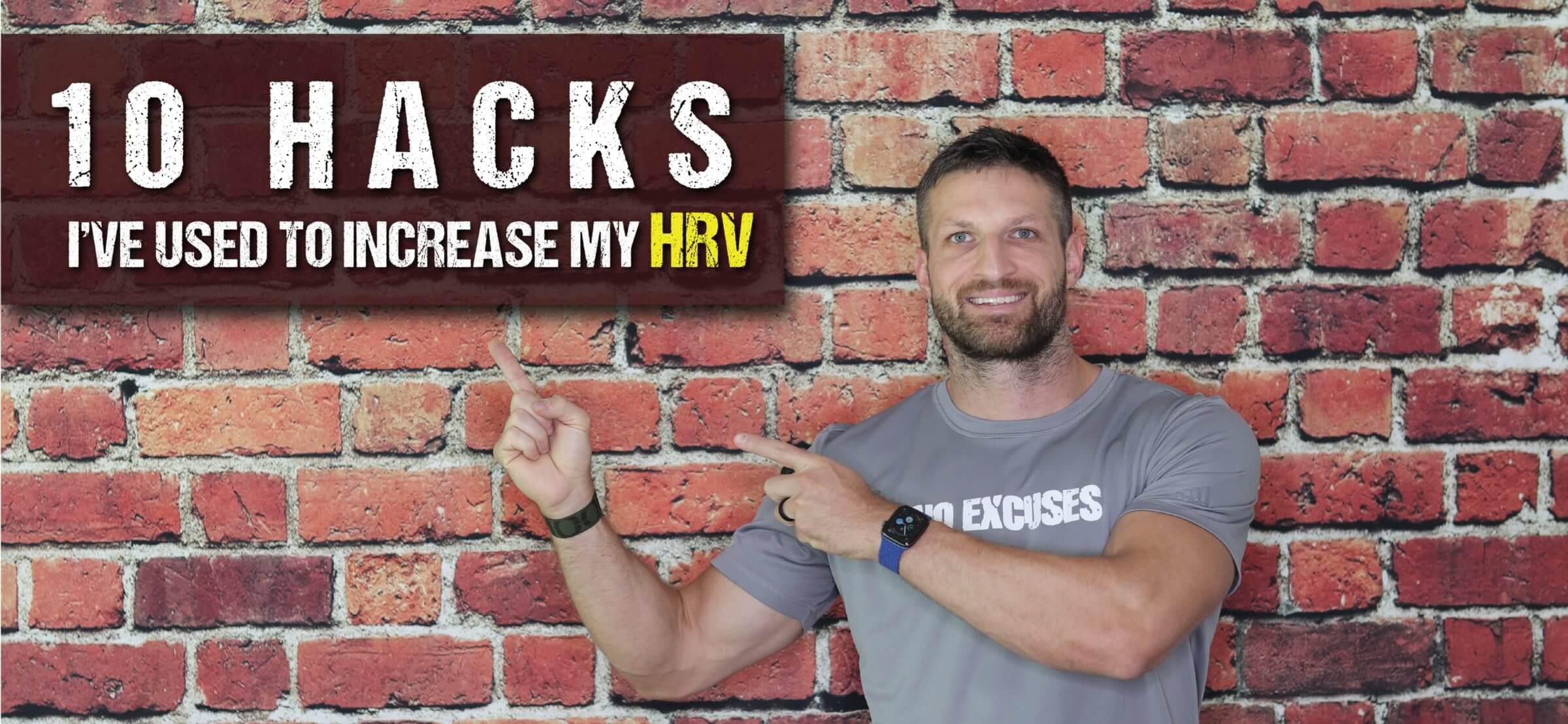 10 Hacks for Improving your HRV