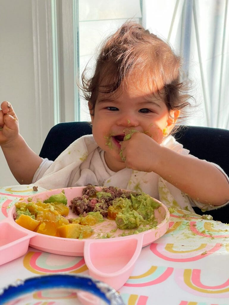 My baby niece is thriving on an animal-based diet.