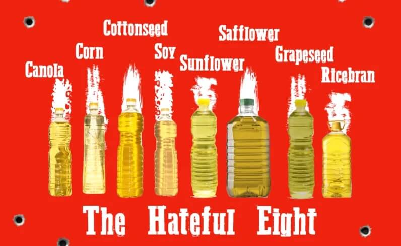 Seed oils are loaded with inflammatory omega-6 fatty acids.