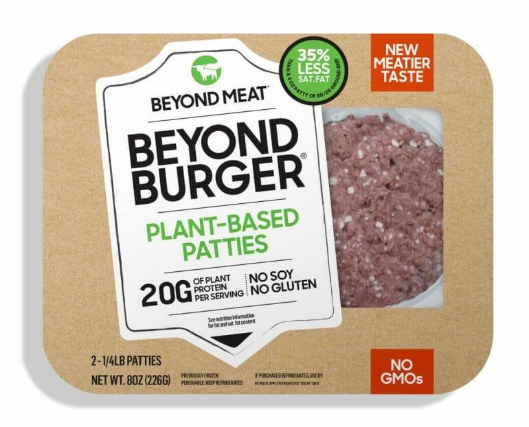 Beyond Burger Plant-Based Patties.