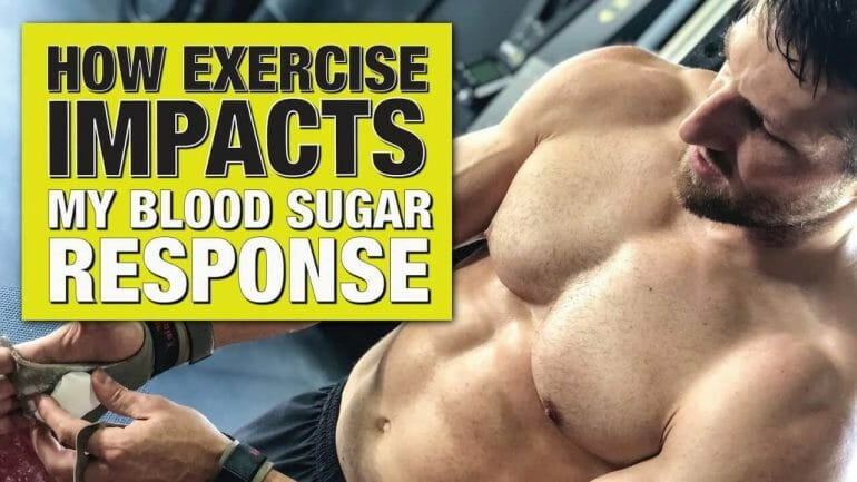 YouTube Video Link: How Exercise Impacts my Blood Sugar Response