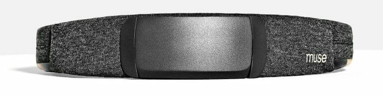 The Muse S brain-sensing headband.